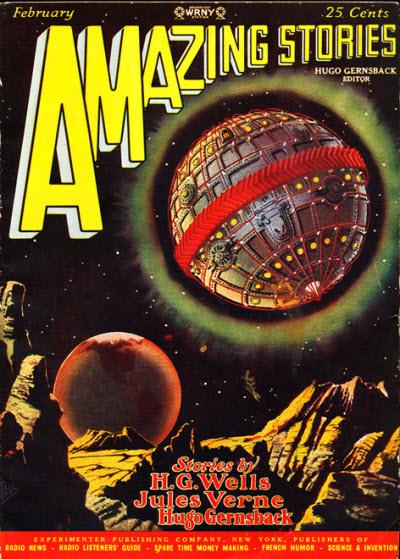 Het door Gernsback in 1926 opgerichte wetenschap en futurisme-magazine. Hij was met Wells en Verne the 'vader van science fiction'