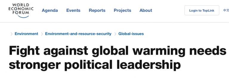 Het pleidooi voor die wereldregering blijft in andere jas steeds opduiken