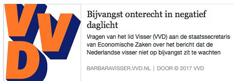 Barbara helpt het vrouwenquotum bij de Nijpelitaanse Maffia (VVD) positief uitvallen, maar kan zich beter wijden aan het moederschap