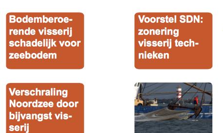 ..betaald door het Ministerie van Economische Zaken schuift SDN alle schuld naar visserij in deze met subsidie van EZ betaalde brochure 'factsheet visserij