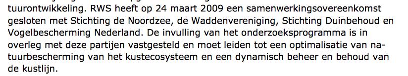 Rijkswaterstaat laat zich door milieuclubs indekken