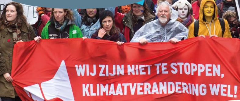 Het omgekeerde is wel waar: zonder subsidie houdt Milieudefensie op, maar klimaatverandering is zo oud als het klimaat zelf