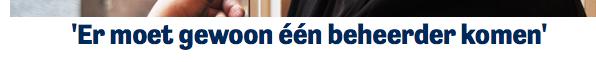 Campagnesite Waddenvereniging: er is al 1 beheerder voor natuurdoelen Natura 2000 en die heet Rijkswaterstaat. Arjan Berkhuysen misleidt weer eens