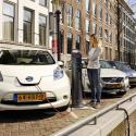elektrische auto gracht