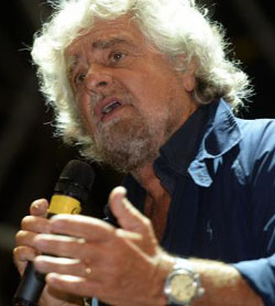 Beppe Grillo (foto nu.nl)
