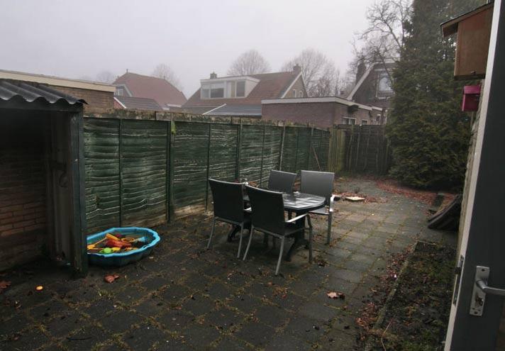 De eigen tuin bij intrek nemen in huis: een typische parkeerplaats van mensen met onderhoudsarme hersens