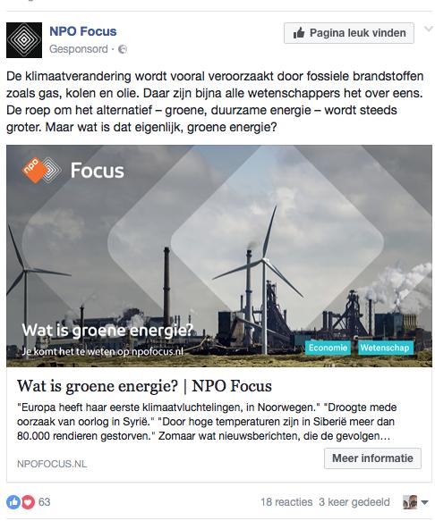 Bizarre staatsgefinancierde propaganda van NPO