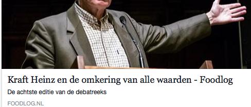 Volgens Klaas van Egmond vertegenwoordigt Unilever 'de juiste waarden'