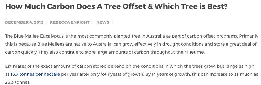 CO2-offsetmarkt veroorzaakt zelf landgrab