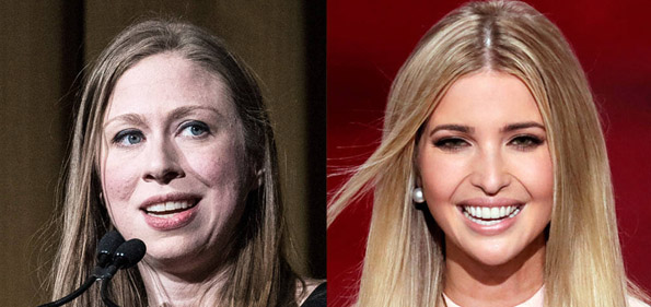 Andrew-RenneisenGetty-Chelsea Clinton en Ivanka Trump (Images-AP-PhotoJ-Scott-Applewhite)
