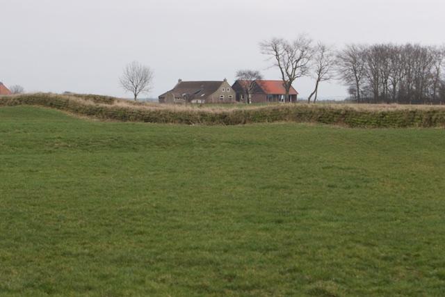 Met een tuunwal uit 2013 lijkt het landschap meer historisch geworteld
