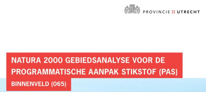 Kostbare geldverspilling (ongeveer 3 miljoen euro voor 1 project) met minimale natuuropbrengst