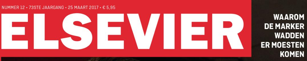 Komende Elsevier, de Marker Wadden een zelfde laken een pak. Belangen lopen daar op tot 880 miljoen euro voor de natuurbouw-industrie en baggerbedrijven