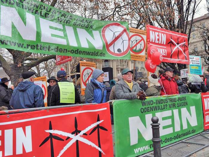 Nein zur windkraft