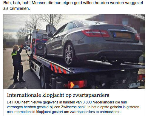 Belastingdienst verspilde een miljard euro volgens Pieter Omtzigt aan mislukte automatisering. Dan maar auto's in beslag nemen...