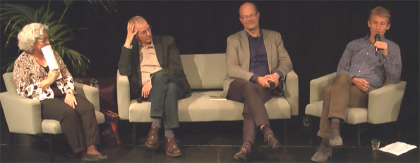 Farah Karimi, Wybren Verstegen, Donald Pols en Marcel Crok